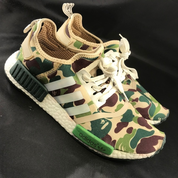 0a459eeac Adidas Other - Mint Condition Adidas NMD Bape Bathing Ape REPS 10